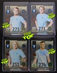 SET 4 x MALMO FF LIMITED EDITION Champions League 2014-2015 ADRENALYN XL - full set