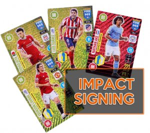 32 cards full set IMPACT SIGNING  -  UPDATE Fifa 365 2021