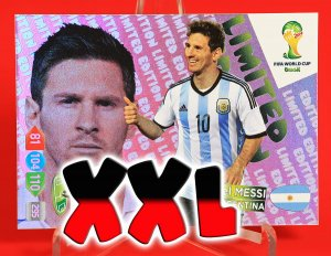 XXL - MESSI  Limited Edition - FIFA BRAZIL WORLD CUP 2014   Brasil