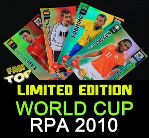 RPA 2010 - LIMITED EDITION -  Panini Adrenalyn XL