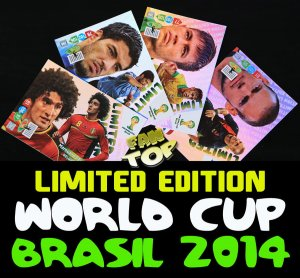 ALL cards - LIMITED EDITION - BRASIL 2014 WORLD CUP