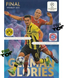 German Glories FINAL cards - Champions League 2013-2014 Panini Adrenalyn XL - limited