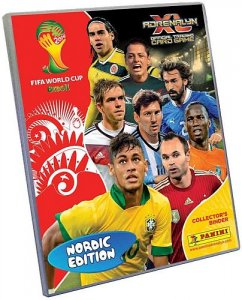 ALBUM + 30 cards  - Nordic Edition -  FIFA BRASIL WORLD CUP 2014