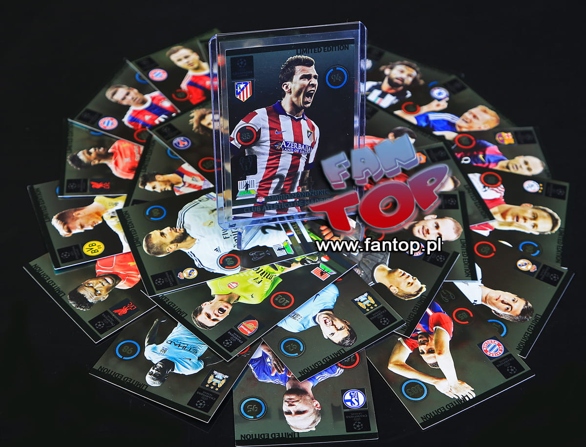 ADRENLYN XL PANINI CHAMPIONS LEAGUE 2014 2015 MULLER LIMITED EDITION
